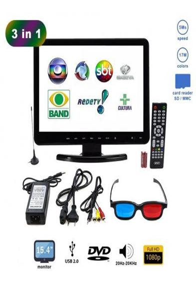 Kp-d116 Tv Dvd 15,4 Digital P/ Cozinha/pequenos Ambientes