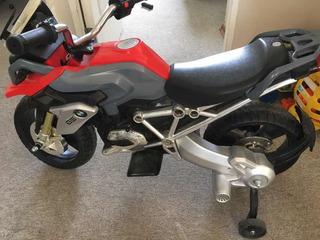 Moto Eléctrica Bmw Niño Usada