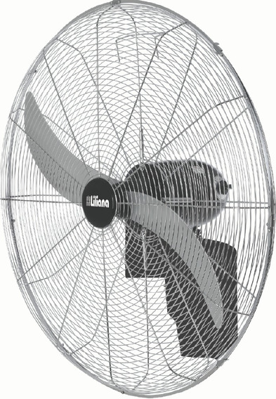 Ventilador De Pared Industrial Liliana Vwit32 280w 32¨ 3 Vel