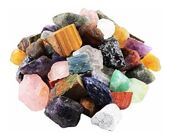 Cristales Rockcloud 1 Lb Primas Naturales Ásperas Piedras Pa