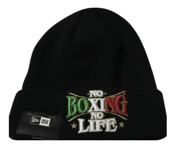 Gorro Beani Frio Original New Era No Boxing No Life Negra