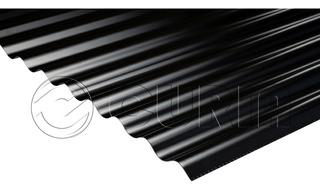 Chapa Color Negra Acanalada C25 X Metro. Oportunidad!
