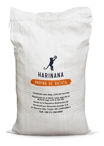Harina De Batata Sin Gluten 20 Kg