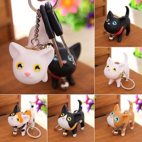 4 Chaveiros Gato / Gatinho Lindo Atacado Kawaii