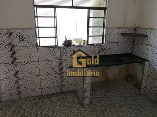Casa Com 2 Dormitórios Para Alugar, 98 M² Por R$ 900/mês - Vila Albertina - Ribeirão Preto/sp - Ca1036