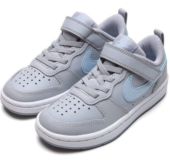 Tenis Nike Niños Court Borough Low 2 Unisex Preescolar Origi