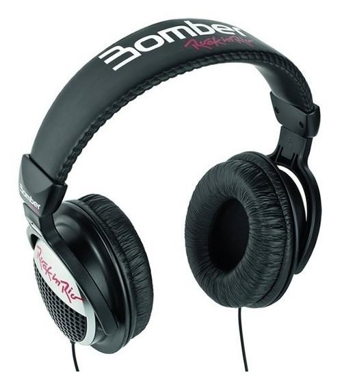 Headphone Bomber Rock In Rio Blac Headphone Bomber Rock In