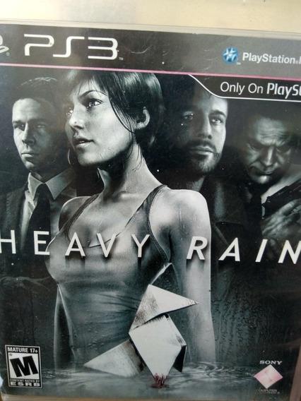 Heavy Rain Ps3 Original , Leia A Descriçao