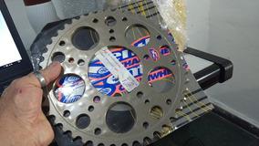 Coroa Transmissão Moto - Corrente Passo 525 Ultralight 45t