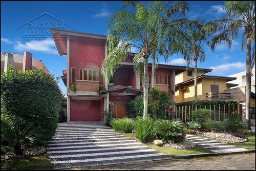 Casa C/ 4 Suítes No Condomínio Hanga Roa Em Bertioga - Cc00136 - 34562470