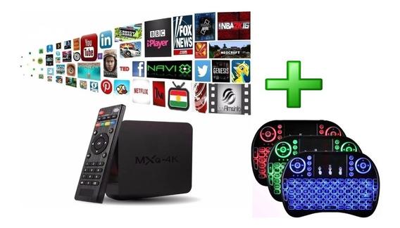 Aparelho Smart Tv Qpro 5g 4k Android 9.0 4g/ 32g + Controle