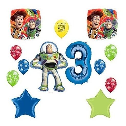 Globos Decorativos De Fiesta De Cumpleaños #3 - Toy Story