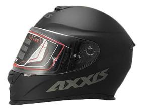 Capacete Axxis Preto Black Matt By Mt Helmets