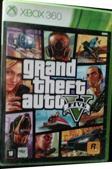 Gta 5 Xbox 360 Mídia Física