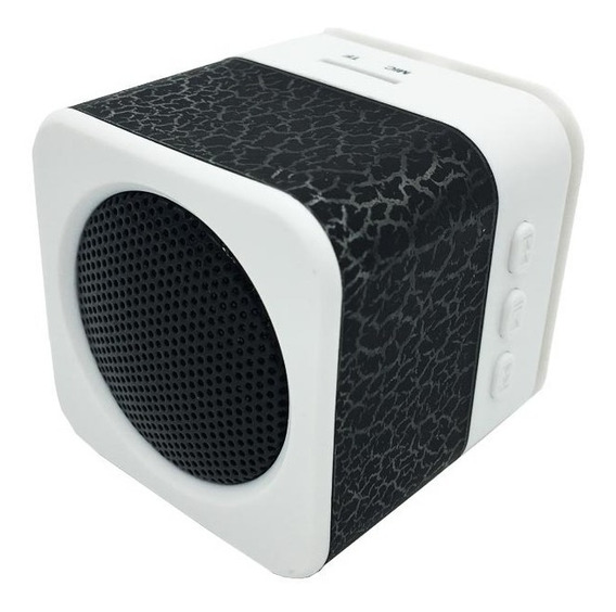 Mini Speaker Portátil Led/micro Sd/preto K1
