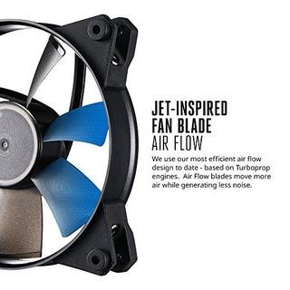 Flujo De Aire Masterfan Pro 120 Con Álabes De Ventilador Ins