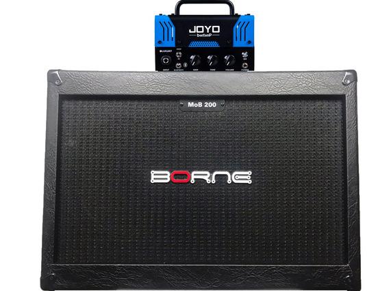 Cabeçote Joyo Bluejay Bantamp Fender Caixa Borne 2 12 Mob200
