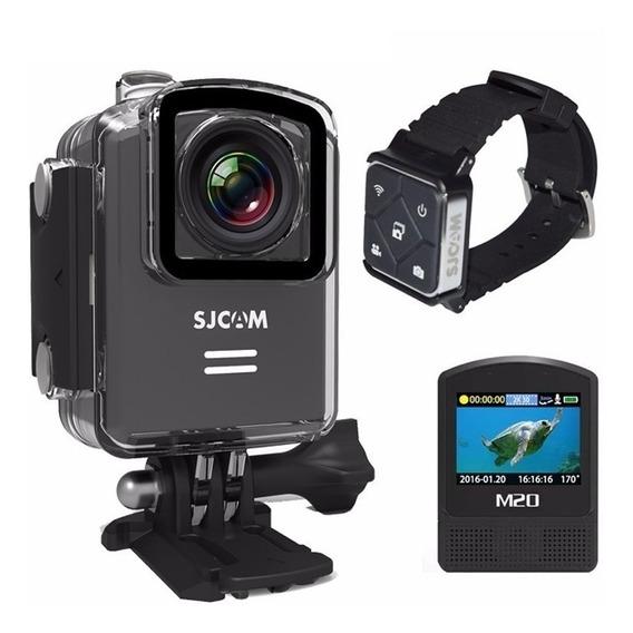 Câmera Sjcam M20 Original Wifi Fullhd 4k +controle Esporte