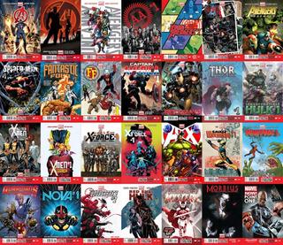 Marvel Comics Eventos Completos Digitalizados