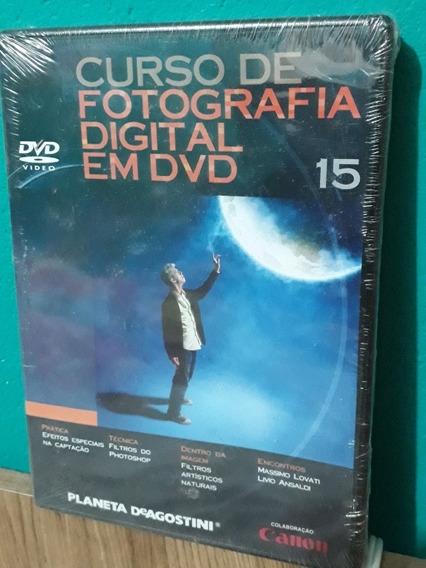 Curso De Fotografia Digital Em Dvd - Cannon Vol 15 Lacrado