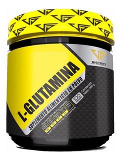 Glutamina Victory 500 Gramos (100 Servicios)
