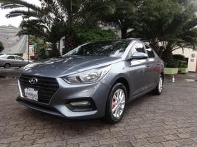 Hyundai Accent 4p Gl Mid,tm6,a/ac.,ve Del.,cámara De Reversa