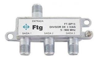 Divisor Antena Vhf/uhf 1/3 Generico