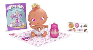 The Bellies Bellyville Muñeca Bebe Interactiva Pinky Twink