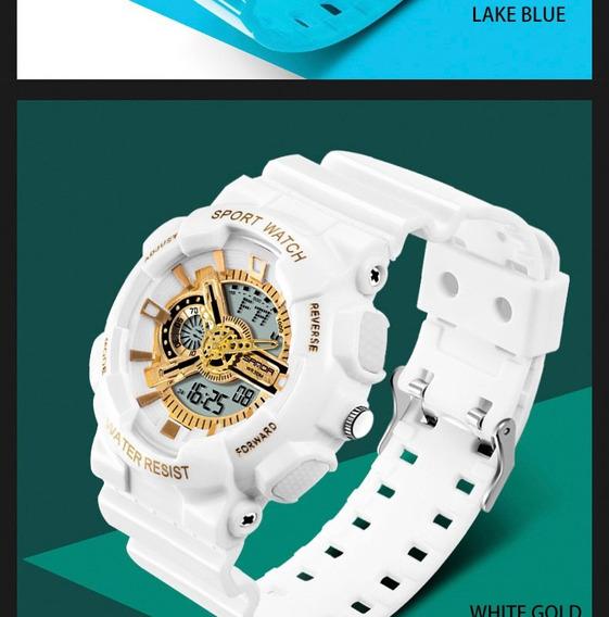 Relógio Estilo Militar Esporte Relógios/ Frete Grátis