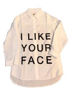 Camisa De Nena Poliester Moderna Tr061 Eps