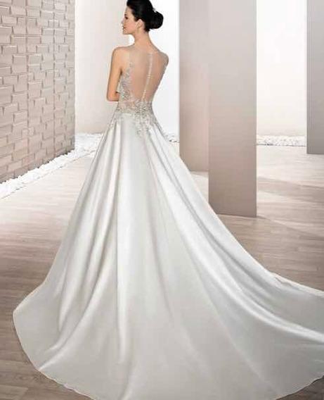 Vestido De Novia Demetrios 691, Color Ivory, Talla 10