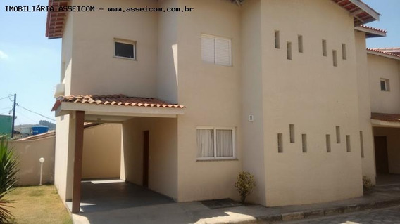 Casa Em Condomínio A Locação Em Bom Jesus Dos Perdões, Centro, 3 Dormitórios, 2 Banheiros, 1 Vaga - 294