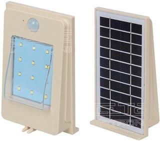 Lampara Led Solar De 2w Para Exterior Con Sensor M