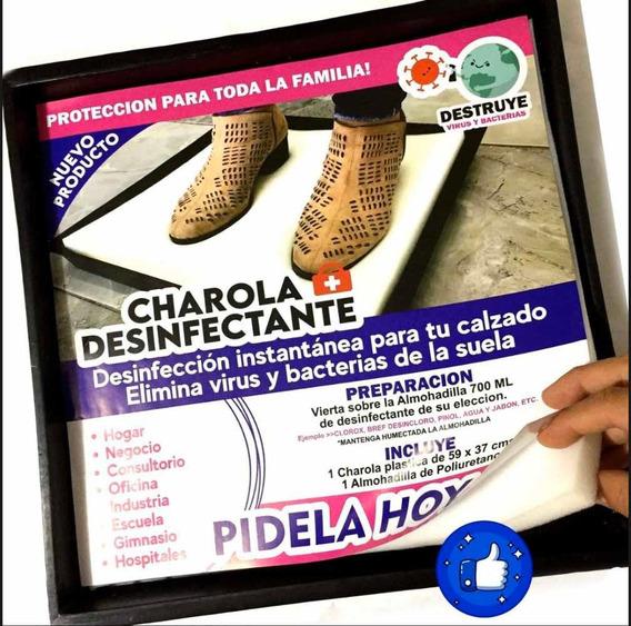 Charola Desinfectante Protege Tu Casa Negocio De Virus 40x40
