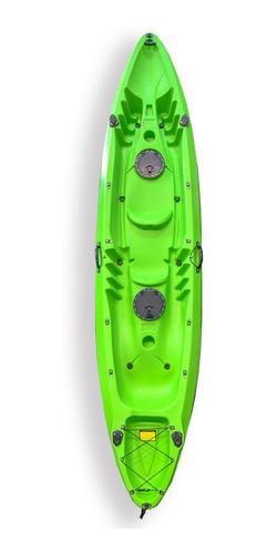 Kayak De Pesca  Doble Tandem 2 + 1 Nautica Bote Lancha