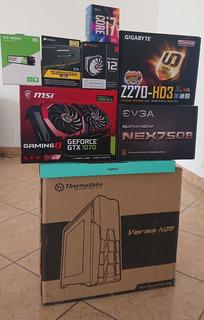 Pc Gaming I7 / Gtx1070 / Ddr4 16gb / M.2 Ssd 240gb