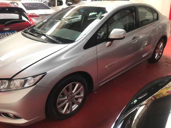 Honda Civic 2.0 Lxr Flex Aut. 4p Prata 14/14