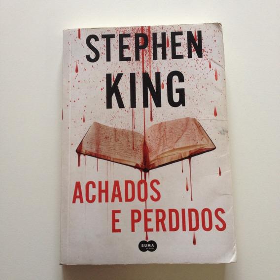 Livro Achados E Perdidos Stephen King E619