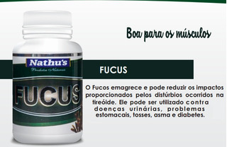 Fucus Nathu´s - Legítimo Emagrecedor Natural 500mg 120cap