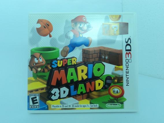 Super Mario 3d Land - Nintendo 3ds - Aproveite 12x Sem Juros