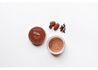 Polvo Bronceador De Cacao Y Uva