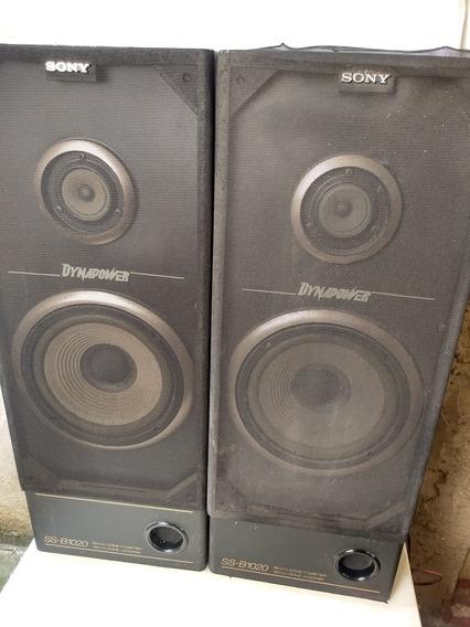 Sony, Caixas Acústicas, Dynapower Ss-b1020, Usadas