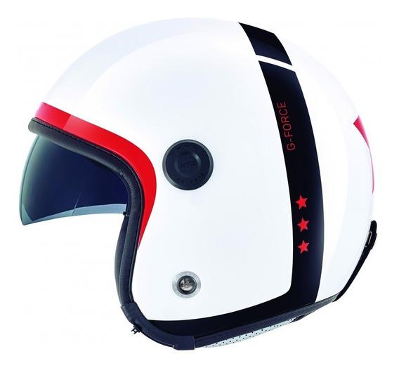 Casco Abierto Nexx X70 G-force Blanco