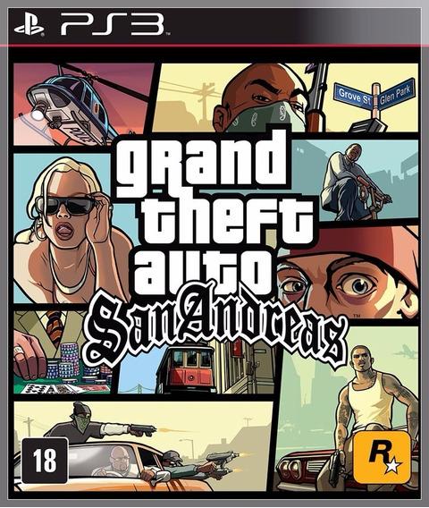 Gta San Andreas Ps3 Digital Psn Melhor Preço Envio Na Hora!