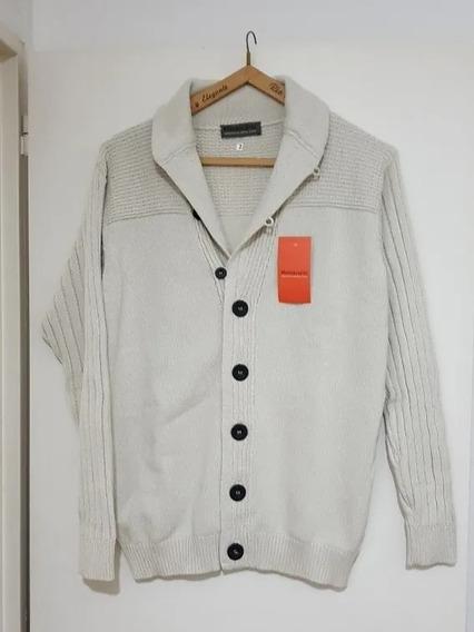 Sweter Montecarlo. Artículo 4314. Talle 2 Color Crudo