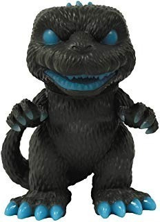 Figura De Vinilo De Godzilla Atomic Breath Que Brilla En La
