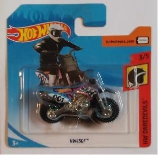 Miniatura Hot Wheels Moto Hw450f - Série Hw Daredevils !!!