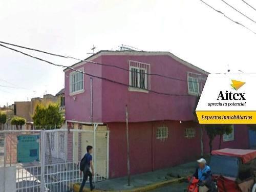 Excelente Casa En Remate Bancario Valle De Aragón- Ecatepec