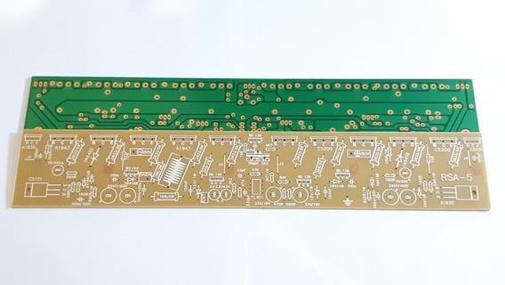 Placa Amplificador 700w Rms Lisa P/ 5 Pares Do A1943 - C5200