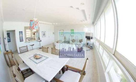 Apartamento Com 4 Dormitórios Para Alugar, 210 M² Por R$ 4.500/mês - Centro - Guarujá/sp - Ap0273